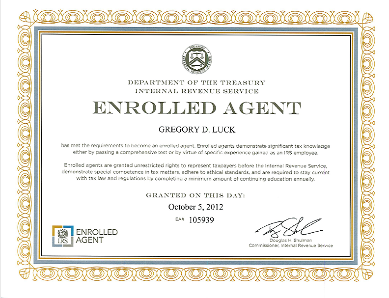 Certified Agents